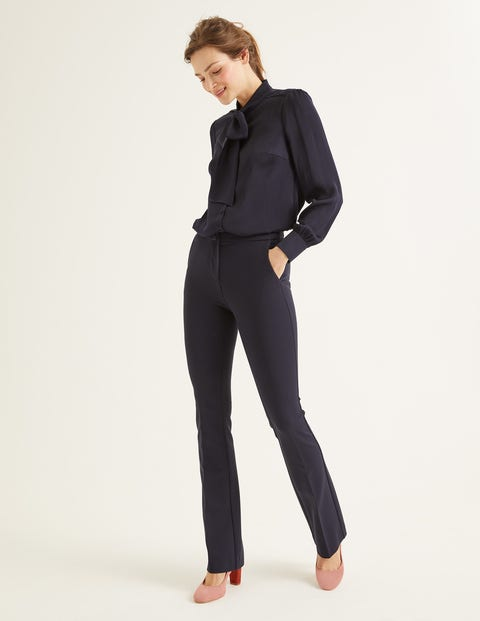 Hampshire Bootcut Trousers - Navy