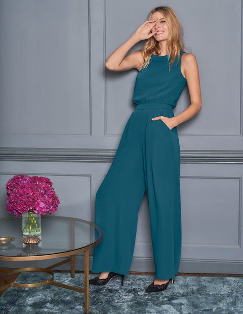 Clarissa Jumpsuit - Baltic