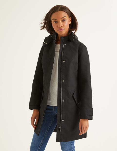 Suki Waterproof Coat - Black