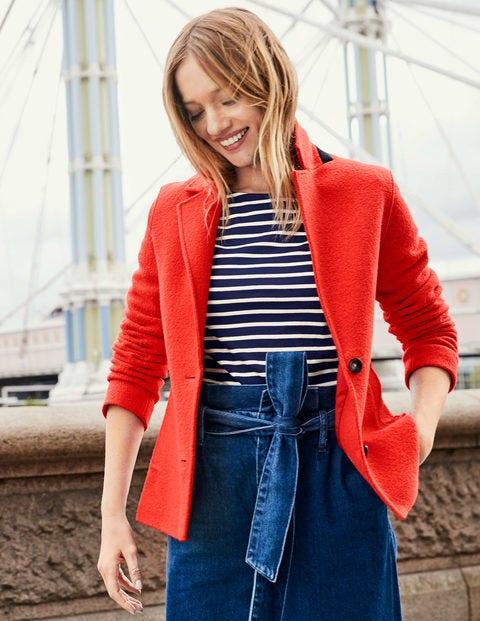 Woolf Blazer - Orangerot