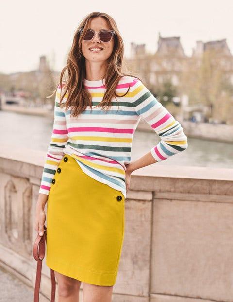 Imogen Mini Skirt - Saffron