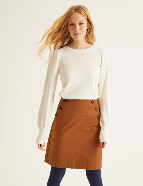 Imogen Mini Skirt - Pumpkin