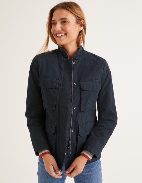 Routledge Wax Jacket - Navy