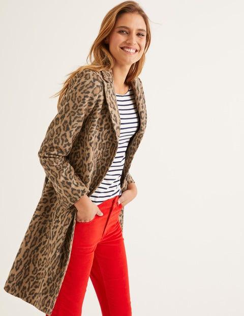 Stanhope Coat - Leopard