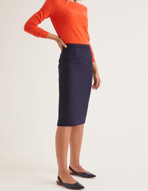 British Tweed Pencil Skirt
