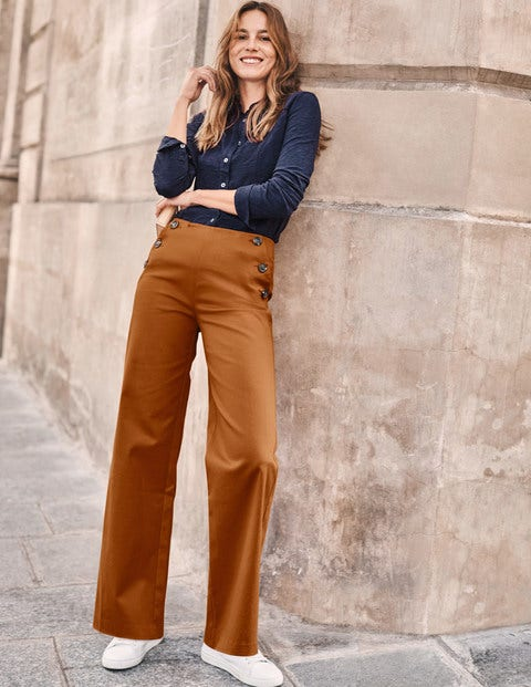 Imogen Pants - Pumpkin