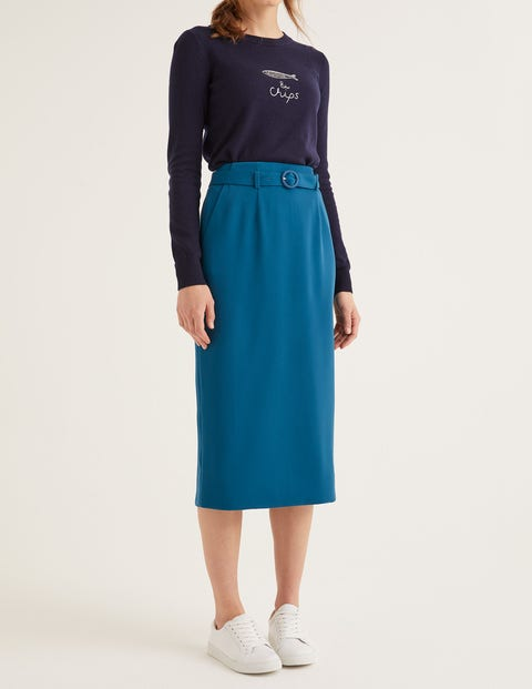 Christina Belted Skirt
