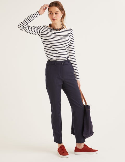 Malden Tweed Pants - Navy
