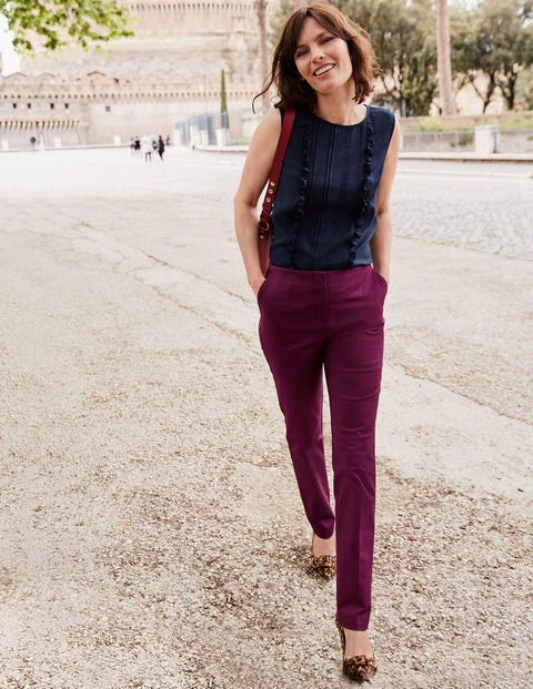 Kensington Trousers - Ruby Ring