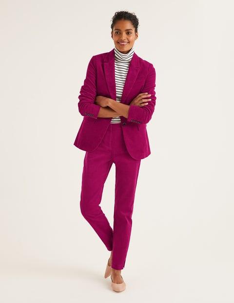 Pantalon Chawton en velours côtelé - Prune éclatant