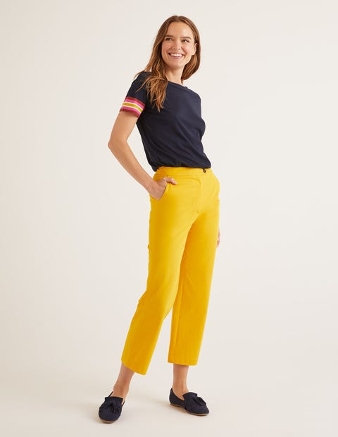 Brampton Cropped Trousers - Happy