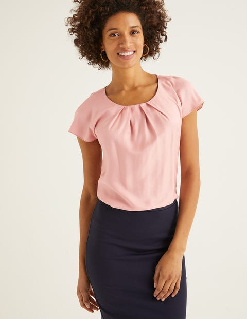Ravello Top - Chalky Pink