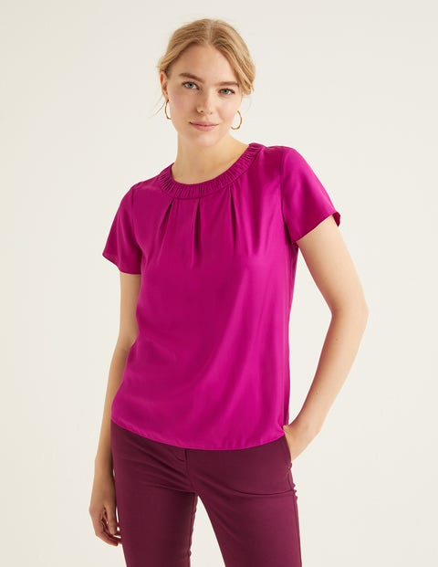 Carey Top - Vibrant Plum
