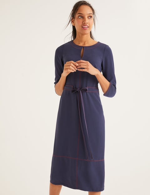 Addie Dress - French Navy