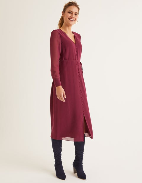 Hazel Midi Dress - Ruby Ring