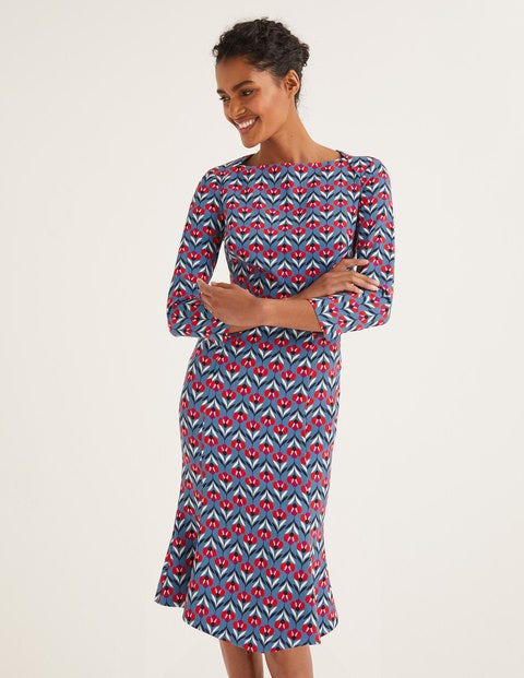 Violette Kleid Blue Damen Boden, Blue