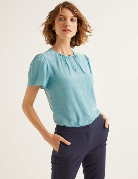 Phoebe Top - Heritage Blue