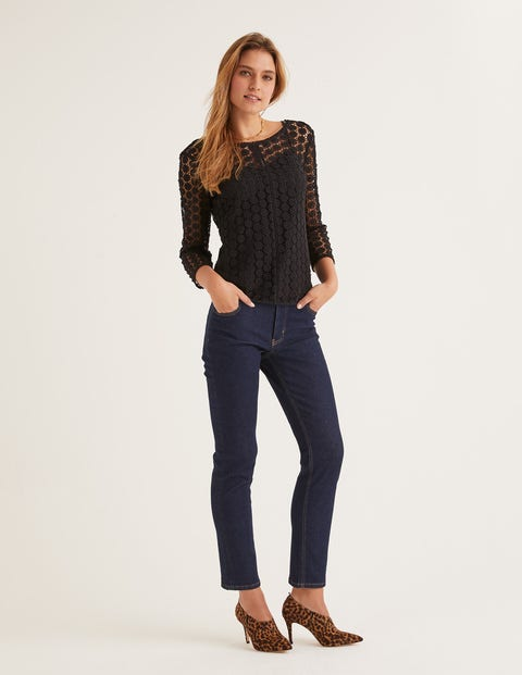 Arabella Lace Top - Black