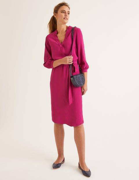 Florence Dress - Vibrant Plum