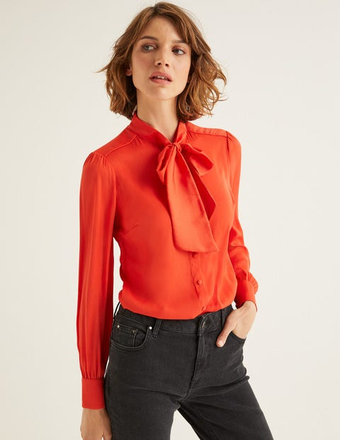 Thelma Blouse - Fire Cracker