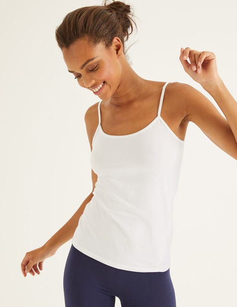 Plain Cami - White
