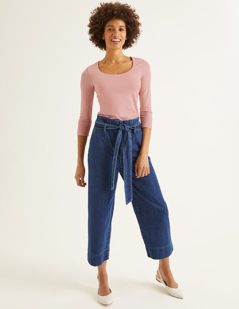 Double Layer Front Top - Chalky Pink