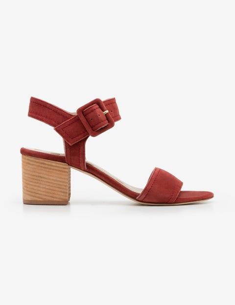 fa8b3fbf7 Margot Heeled Sandals - Conker