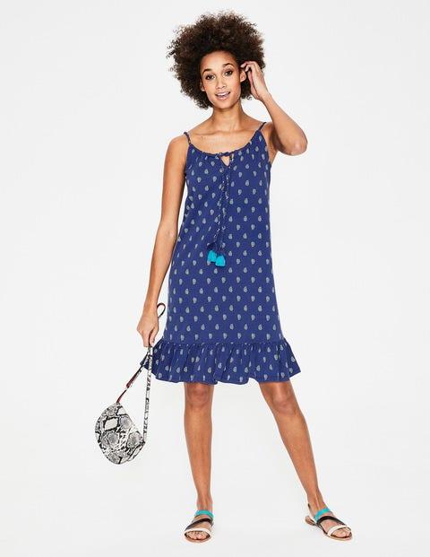 Sophie Jerseykleid Blue Damen Boden, Blue