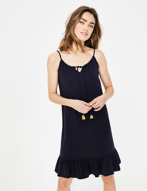 Sophia Jersey Dress - Navy