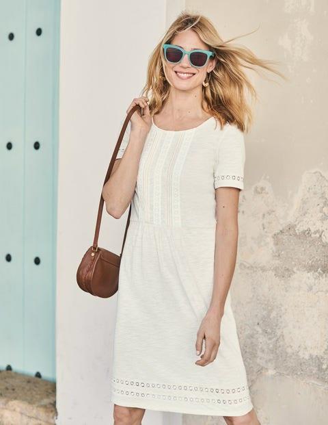 Cressida Jersey Dress - Ivory
