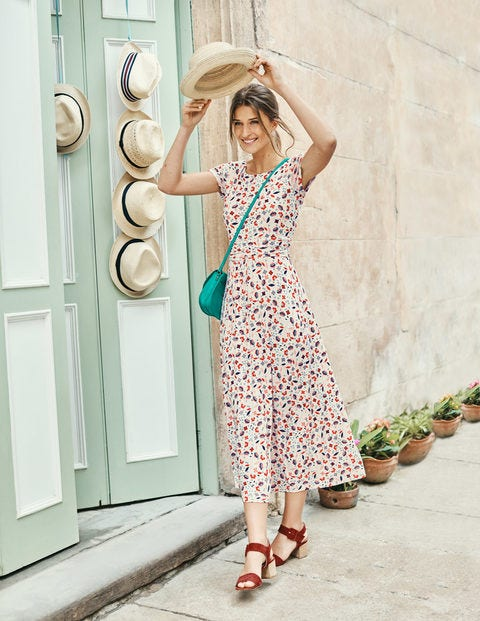 Alda Jersey Midi Dress