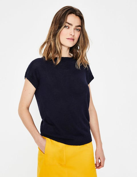 Aubrey Button Back Tee