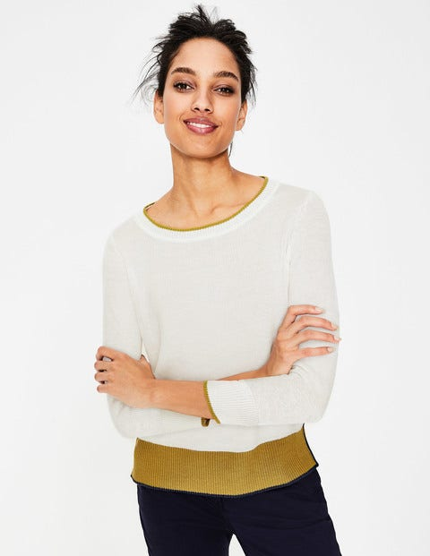 Armelle Relaxed Jumper - Ivory