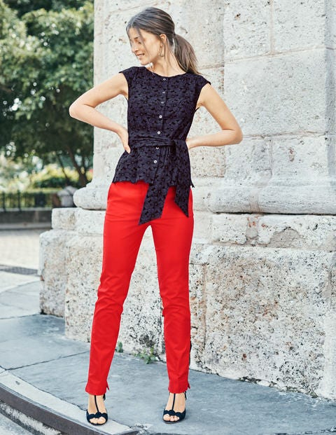 Richmond Trousers - Red Pop