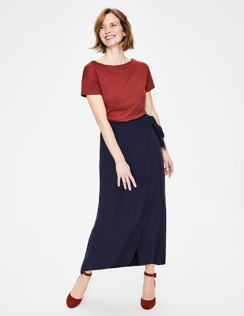 Portia Skirt - Navy