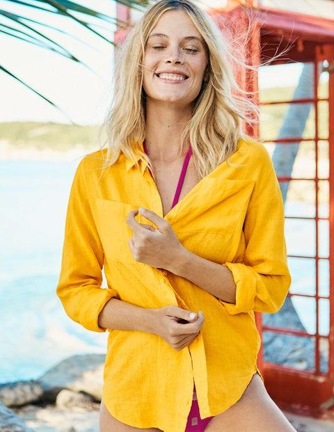 Linen Shirt - Happy