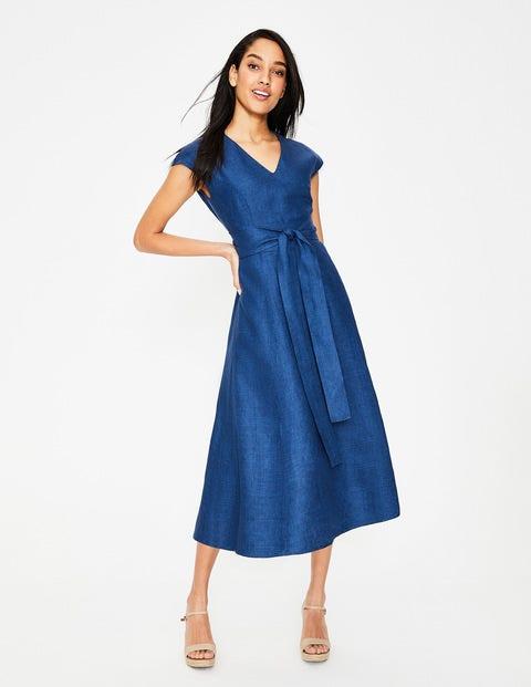 Tori Midi Dress - Delave