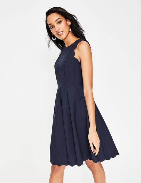 Judith Dress - Navy