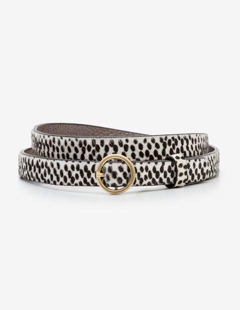 Skinny Waist Belt - Mini Spot