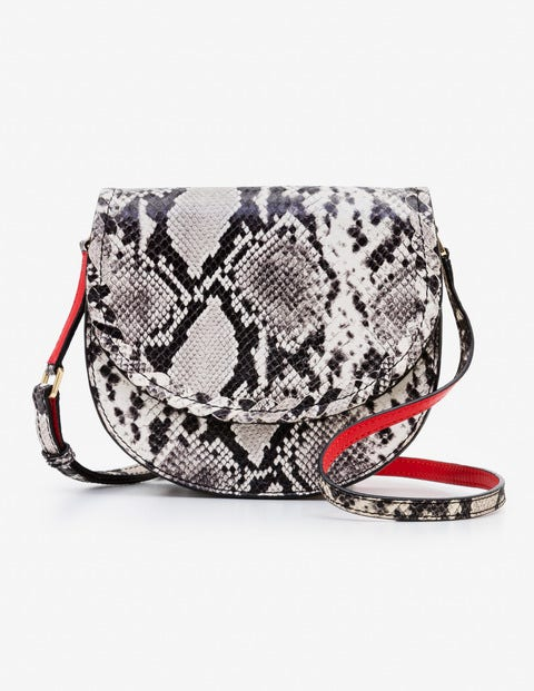 Lingfield Mini Saddle Bag - Snake