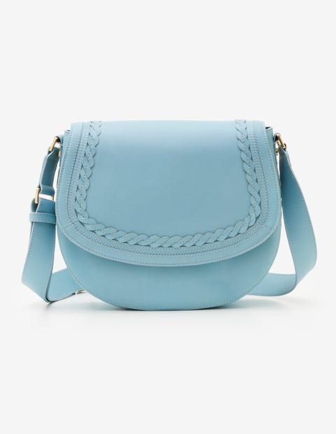 Lingfield Midi Saddle Bag - Heron Blue