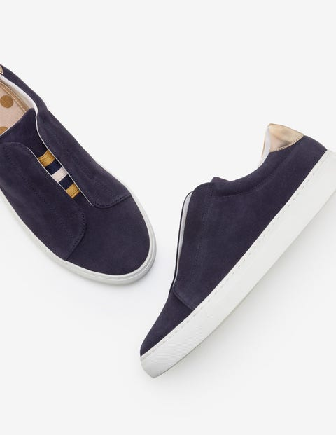 Slip-On Trainers - Navy
