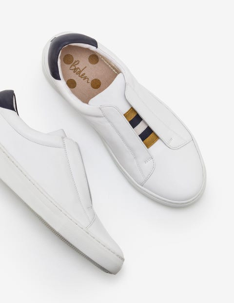 Slip-On Trainers - White