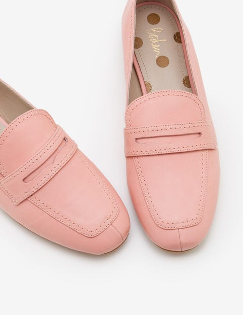 Georgina Loafers - Chalky Pink