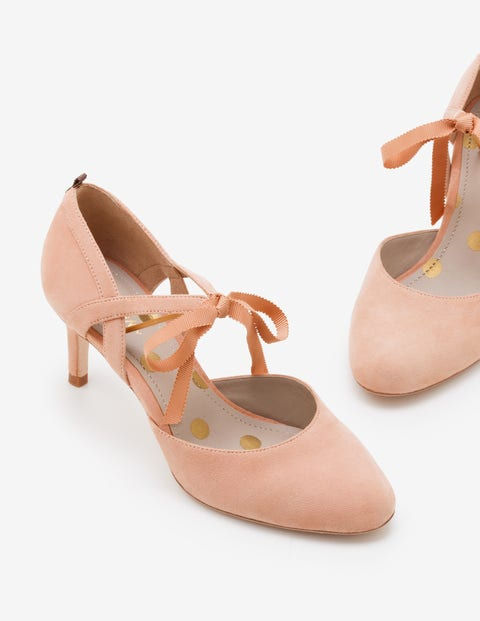 Lavinia Mid Heels - Fawn Rose
