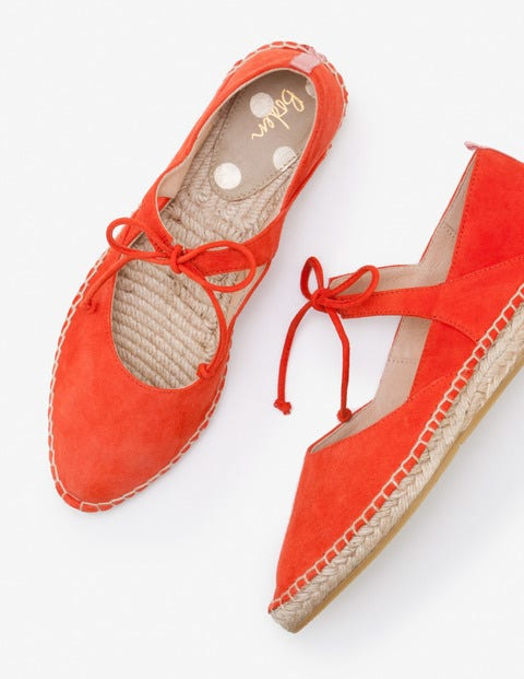 Claire Espadrilles - Red Pop