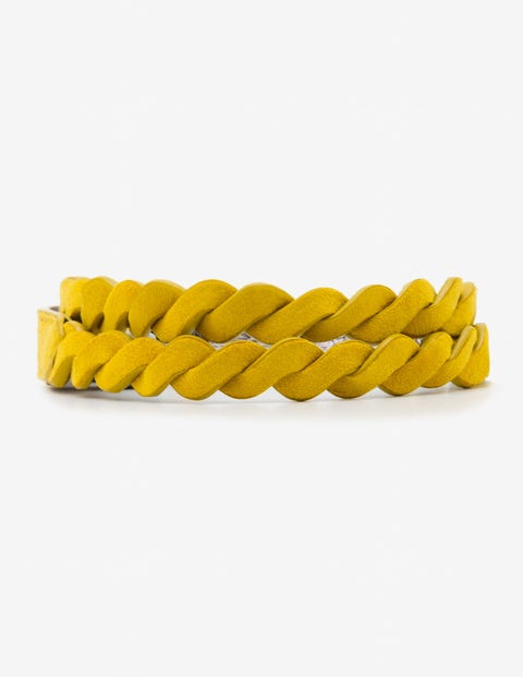 Woven Waist Belt - Happy