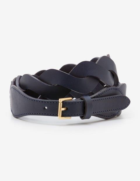 Woven Belt - Navy