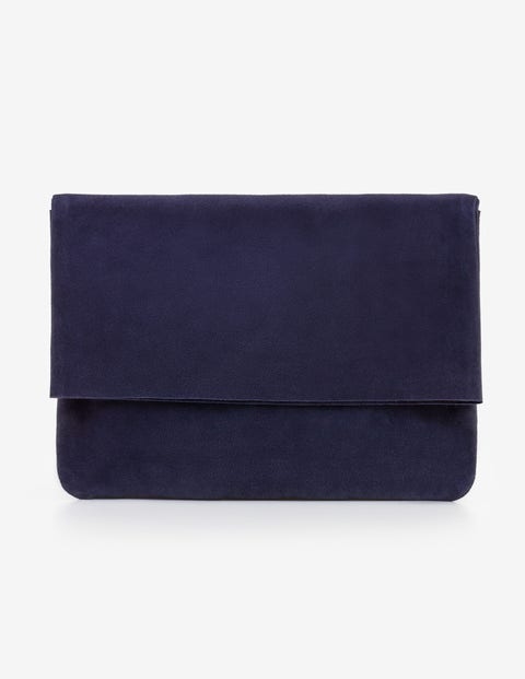 Bury Clutch Bag - Navy