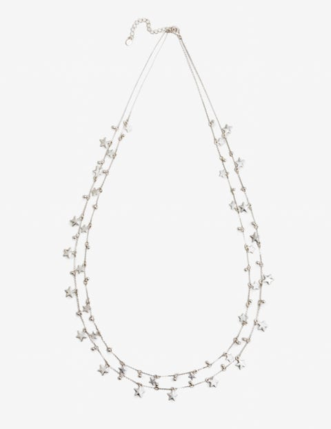 Star Drop Longline Necklace